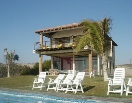 Vacation rental home in vichayito mancora peru - Casitas de playa ...